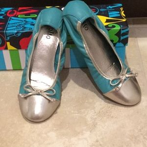 Rialto Turquoise & Silver Shoes